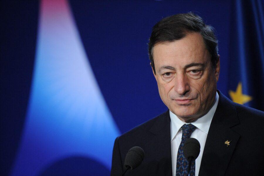 Mario Draghi: Disponiamo di 248 miliardi. Prepariamo l'Italia di domani.